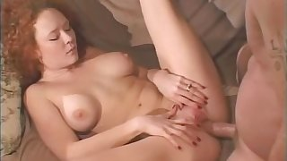 Retro video of mature wife Audrey Hollander getting ass fucked