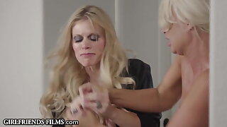 Homewrecking MILFs Turn Lesbian Fight Into Angry Fuck