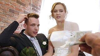 VIP4K. Married couple decides to sell bride's pussy for good