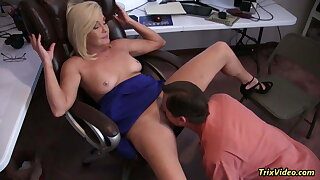 HOT and HORNY MILFs Getting Lucky at the Office