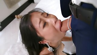 Asian babe in exchange for jewelry ready to do everything for BF