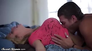Enticing light-haired doll, Alexis Fawx is permanently having casual orgy with her jaw-dropping step- sonnie