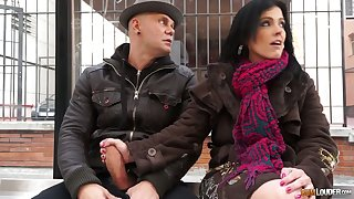 Bosomy Montse Swinger is distance off cowgirl who loves attracting hardcore DP