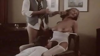 German vintage movie with a hot blonde and her friends