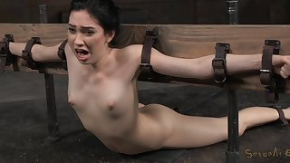 Unusual sex poses and strong orgasm are very welcome for Aria Alexander