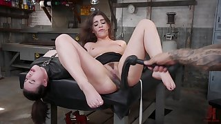Joseline Kelly ride him in reverse cowgirl while she cums on his dick